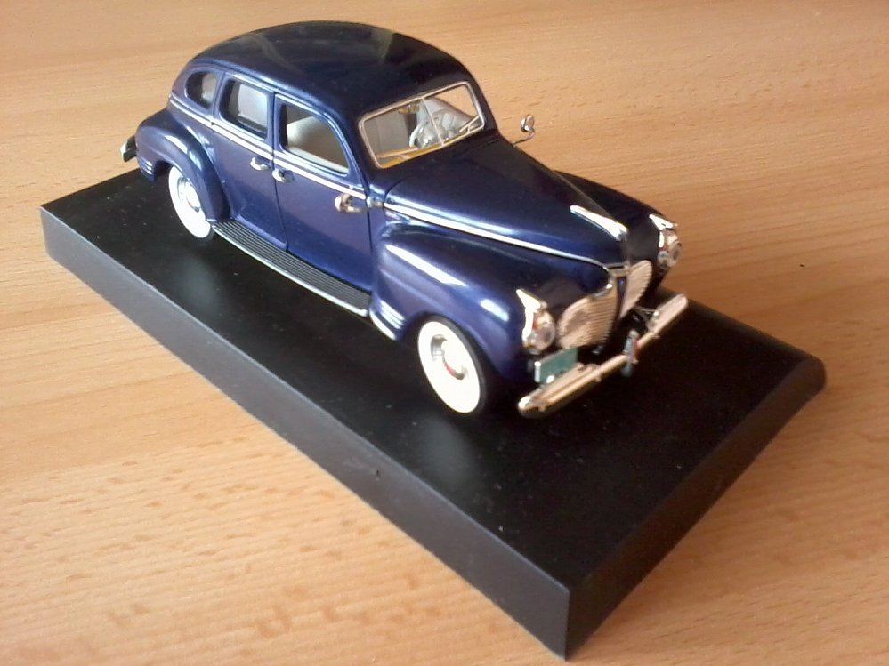 Plymouth die cast replicas for 1941 plymouth deluxe 4 door
